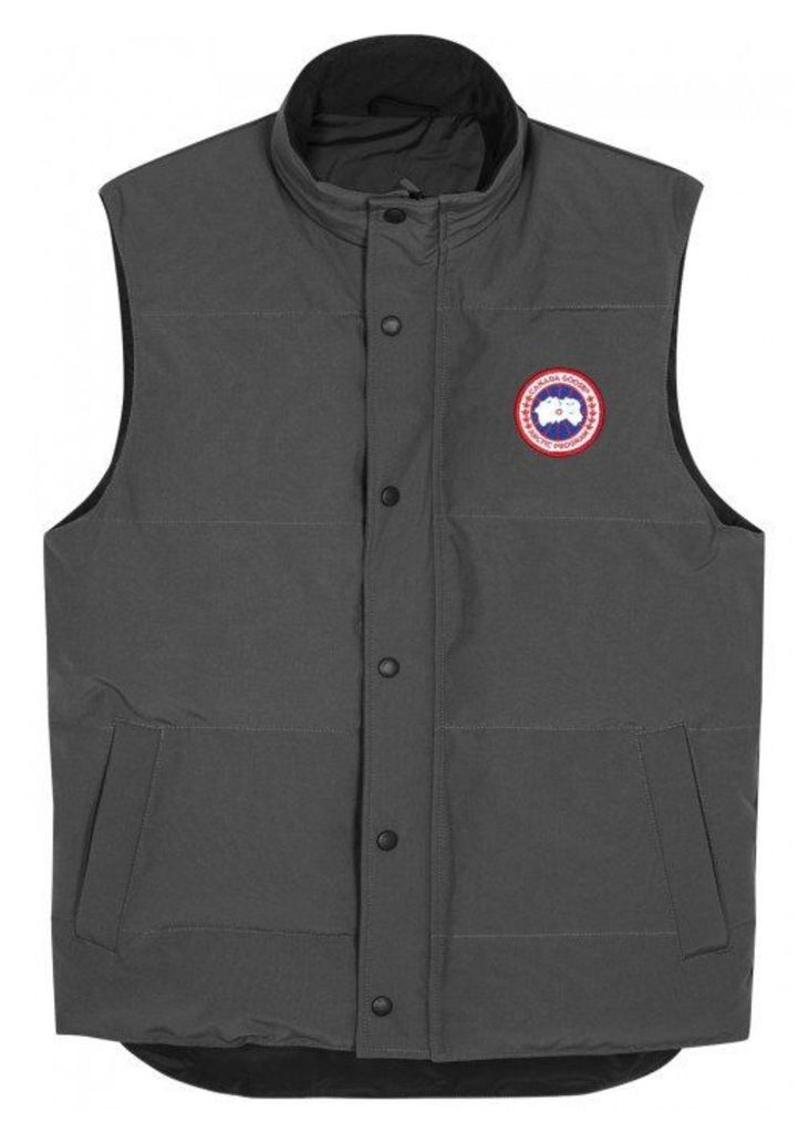 Canada Goose X Eepmon Garson Grey Quilted Shell Gilet - Size M