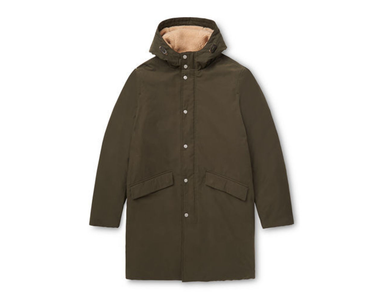 Clean Wadded Parka