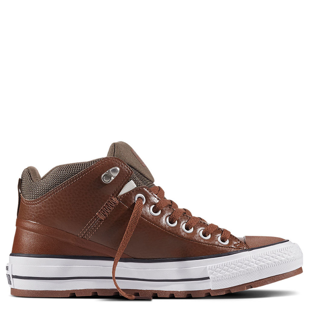 Chuck Taylor All Star Street Boot Leather