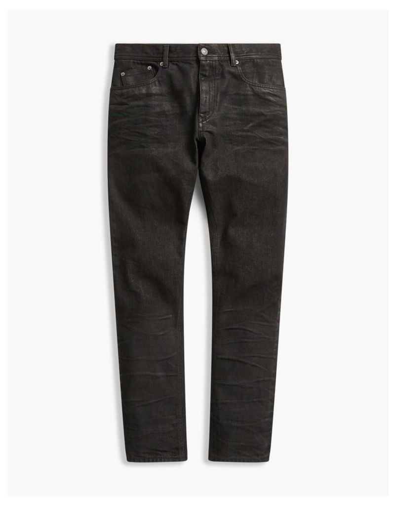 Belstaff Westering Tapered Fit Trousers Black