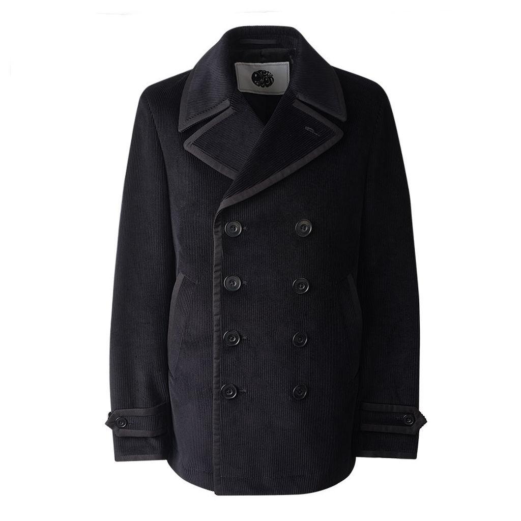 Pretty Green Men's Lonely Hearts Cord Jacket - Black - S
