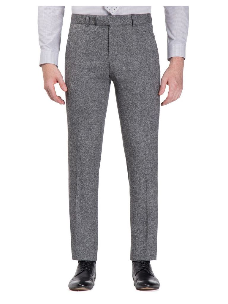 Smoked Grey Donegal Camden Fit Trouser 28L Grey