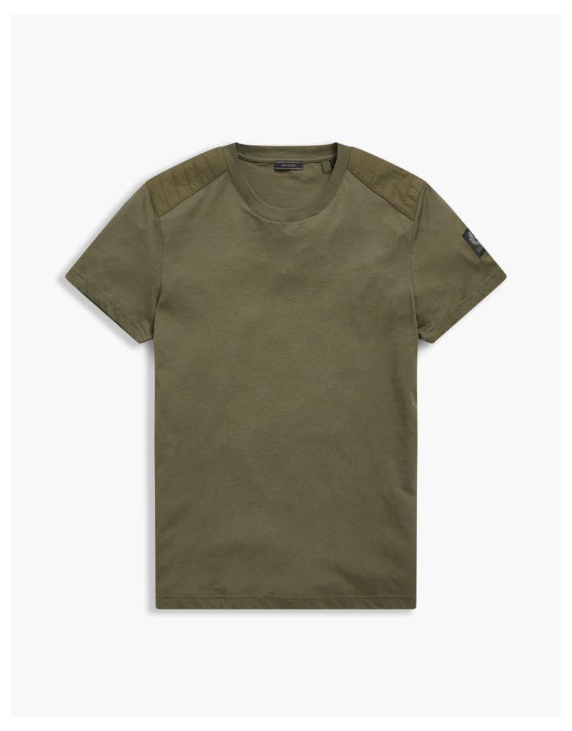 Belstaff Tattenham T-Shirt Ss Man Green
