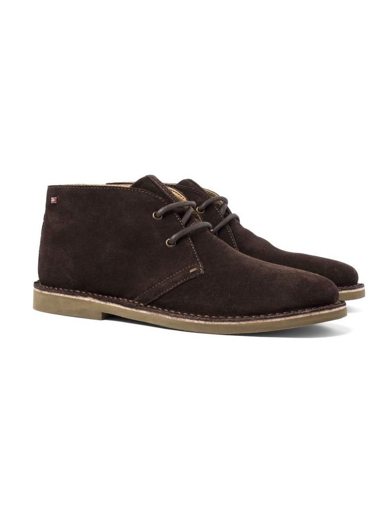 Logan Suede Desert Boot 10 Chocolate