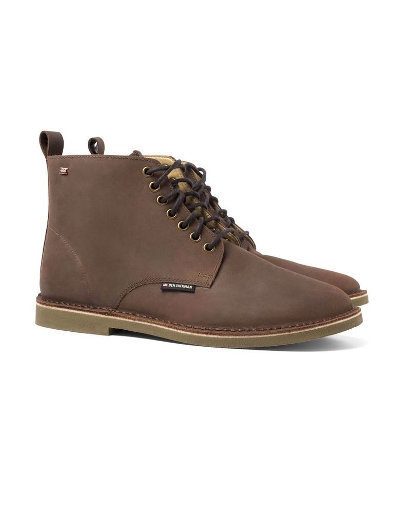 Larry Lace-Up Boot 10 Brown