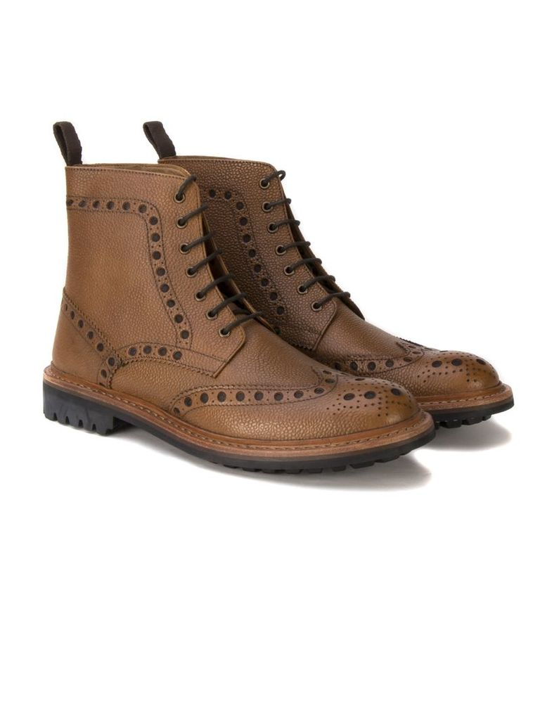 Goodyear Country Brogue Boot 10 Tan