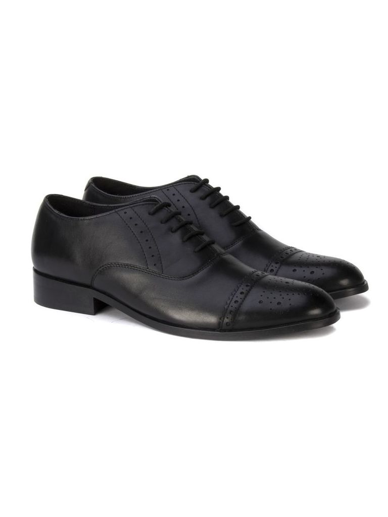 Tivoli Formal Brogue Shoe 10 Black