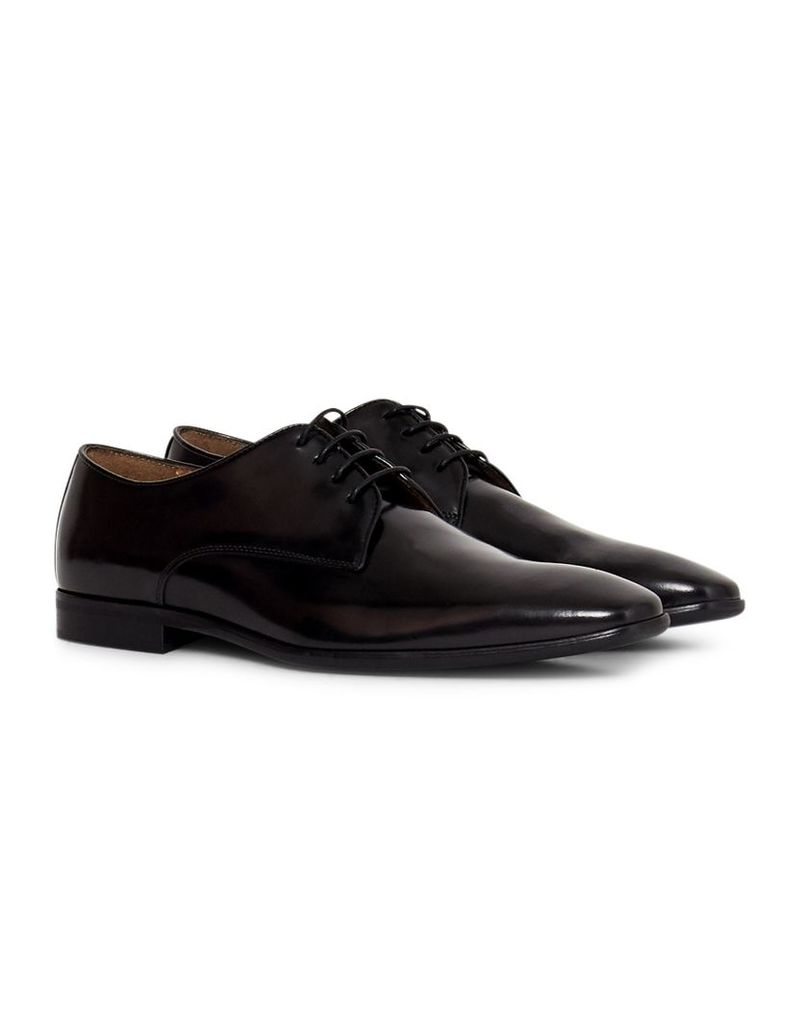 The Idle Man Leather Smart Shoe Black