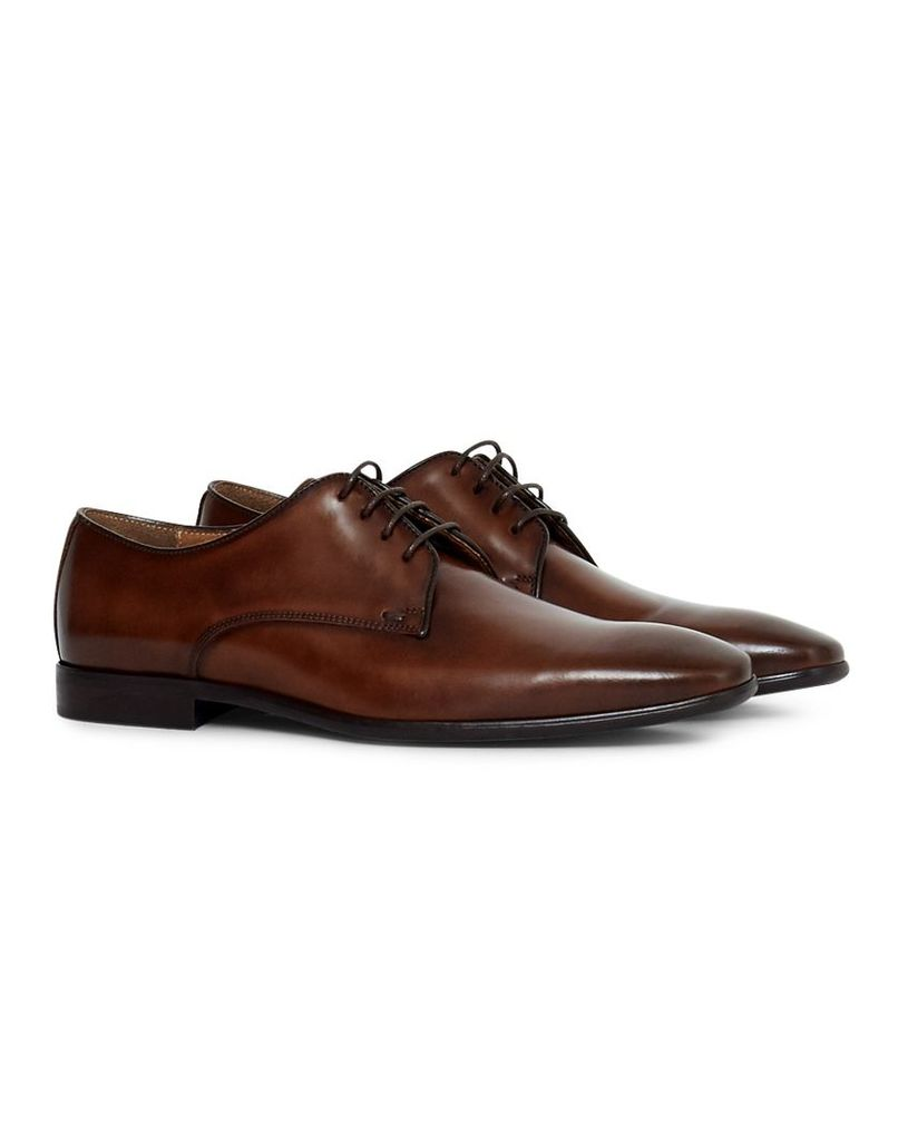 The Idle Man Leather Smart Shoe Tan