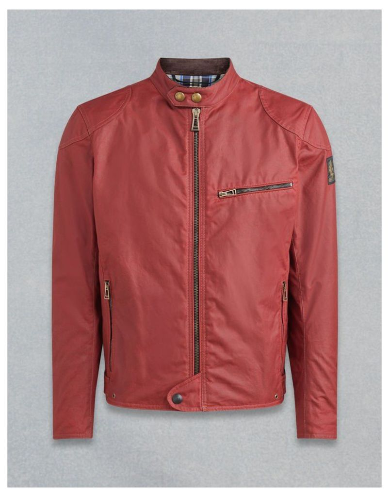 Belstaff Ariel Motorcycle Jacket Red