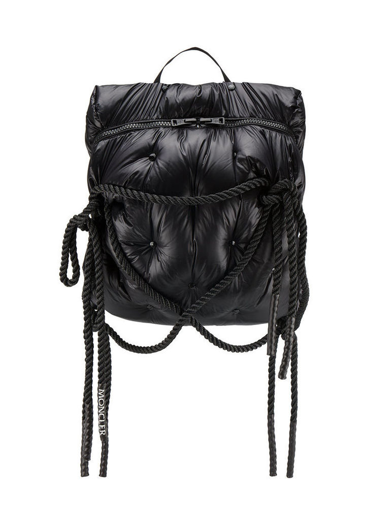 Moncler C - Rucksack with padded straps and rope detail - men - Polyamide/Feather