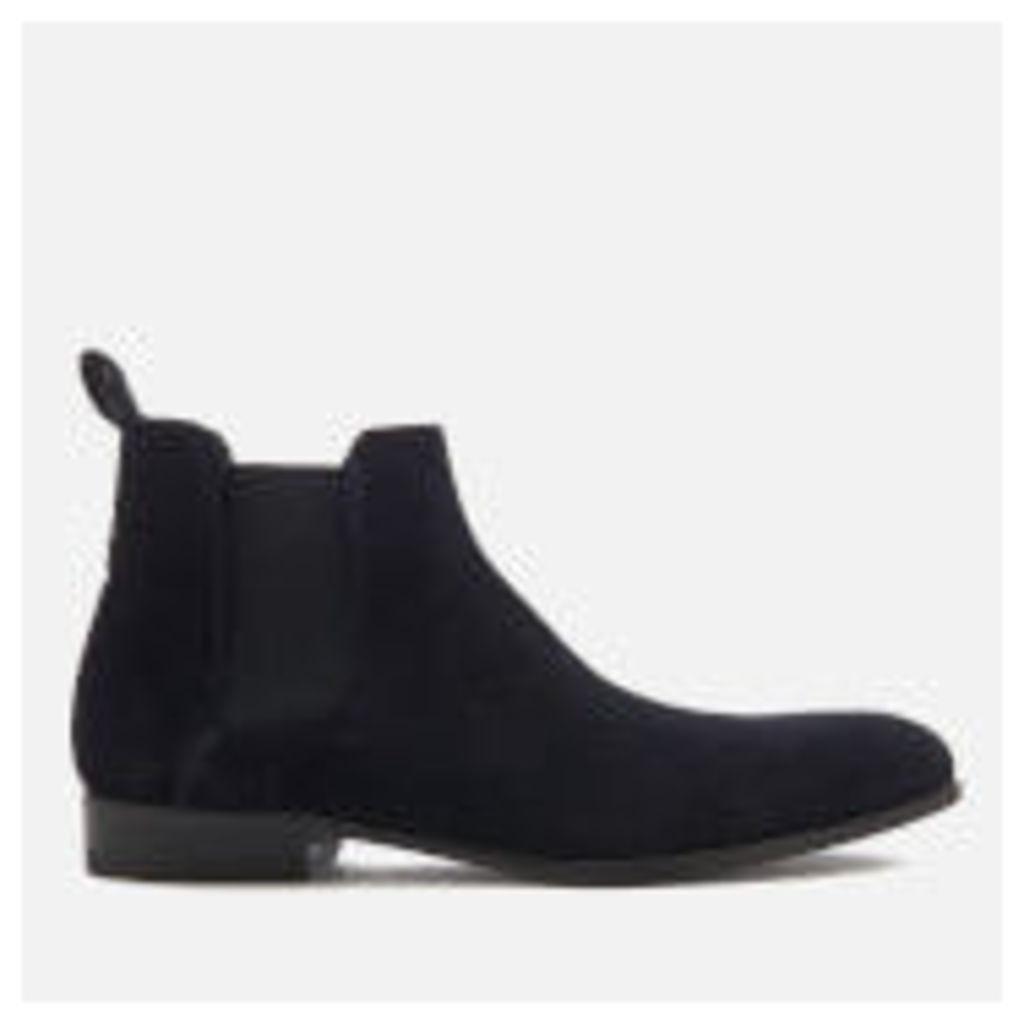 HUGO Men's Cult Suede Chelsea Boots - Dark Blue