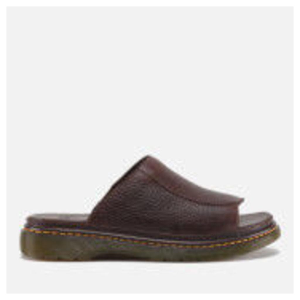 Dr. Martens Men's Achava Overdrive Slide Sandals - Dark Brown