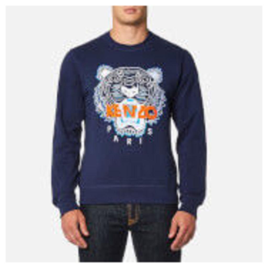 KENZO Men's Classic Icon Sweatshirt - Ink - L - Blue