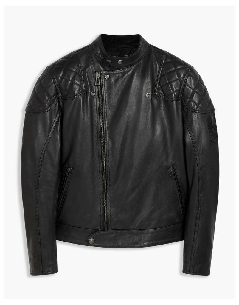 Belstaff Ivy Motorcycle Jacket Black