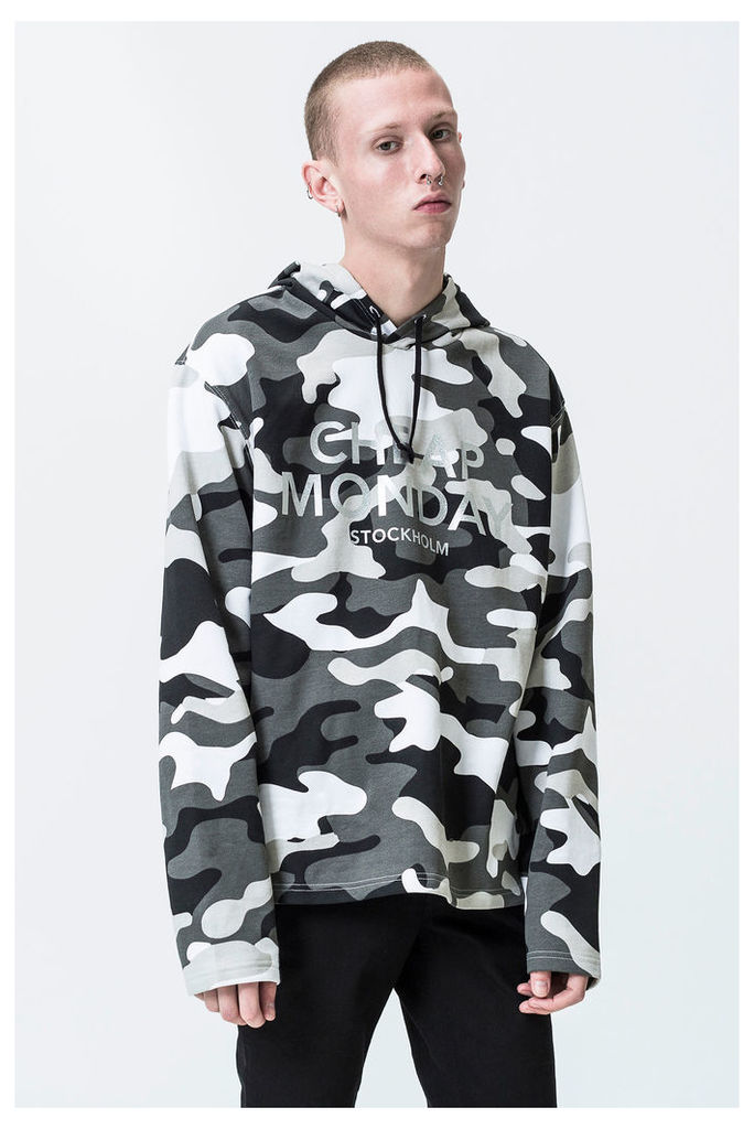 Pullover After Camo Hood