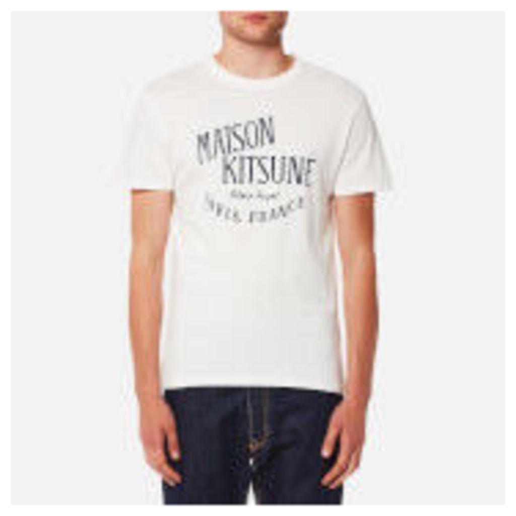 Maison Kitsuné Men's Palais Royal T-Shirt - Latte