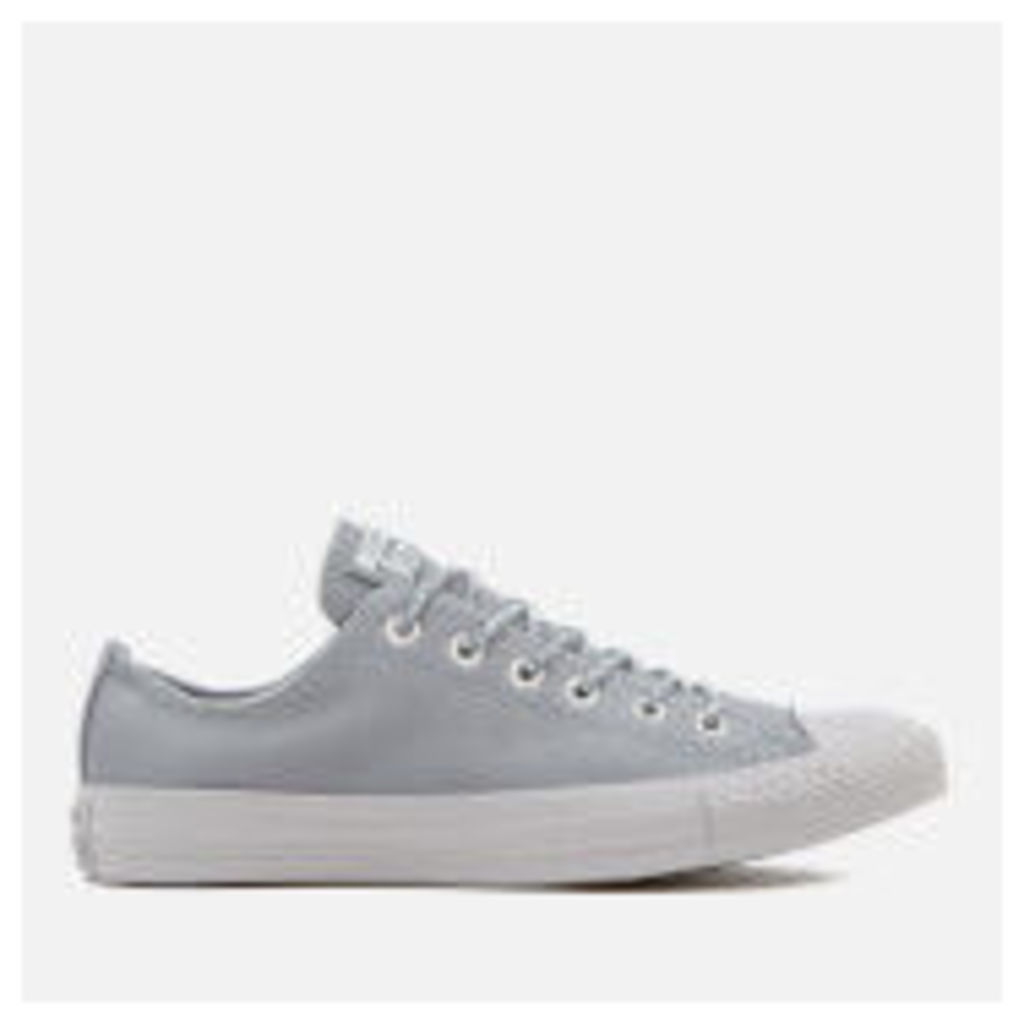 Converse Men's Chuck Taylor All Star Ox Trainers - Cool Grey/Pure Platinum