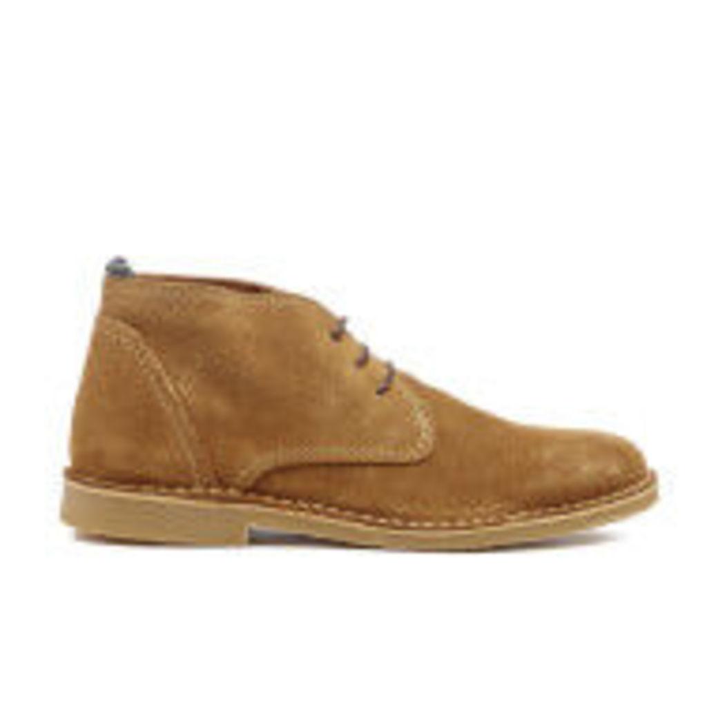 Selected Homme Men's Royce Boots - Cognac