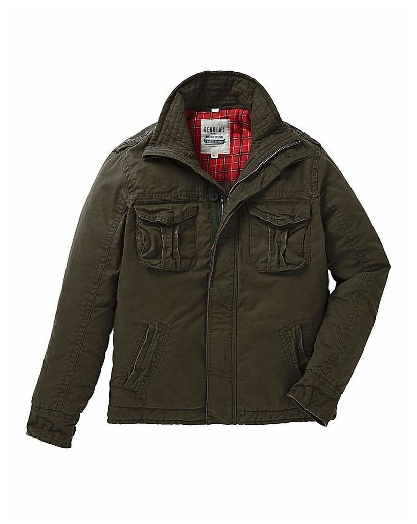Jacamo Glenwood Four Pocket Coat Regular