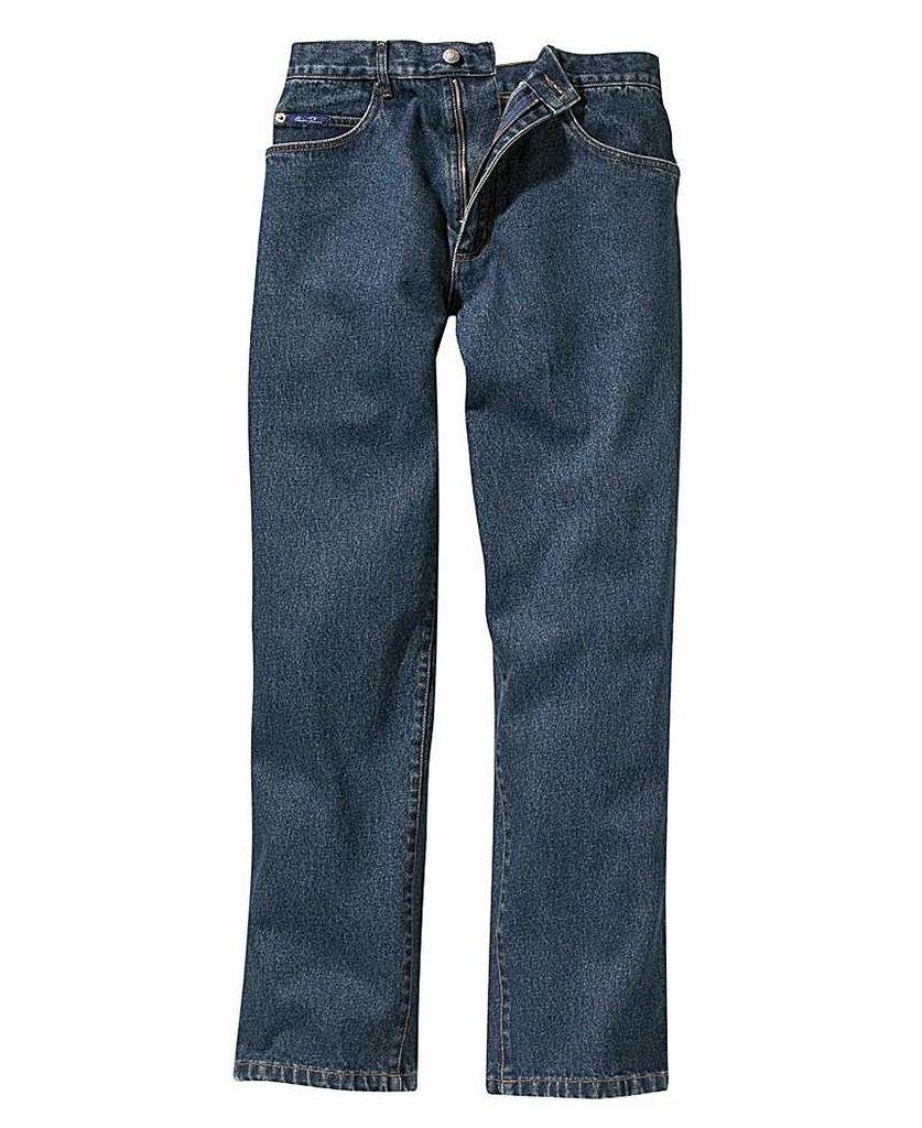 UNION BLUES Straight Denim Jeans 33in