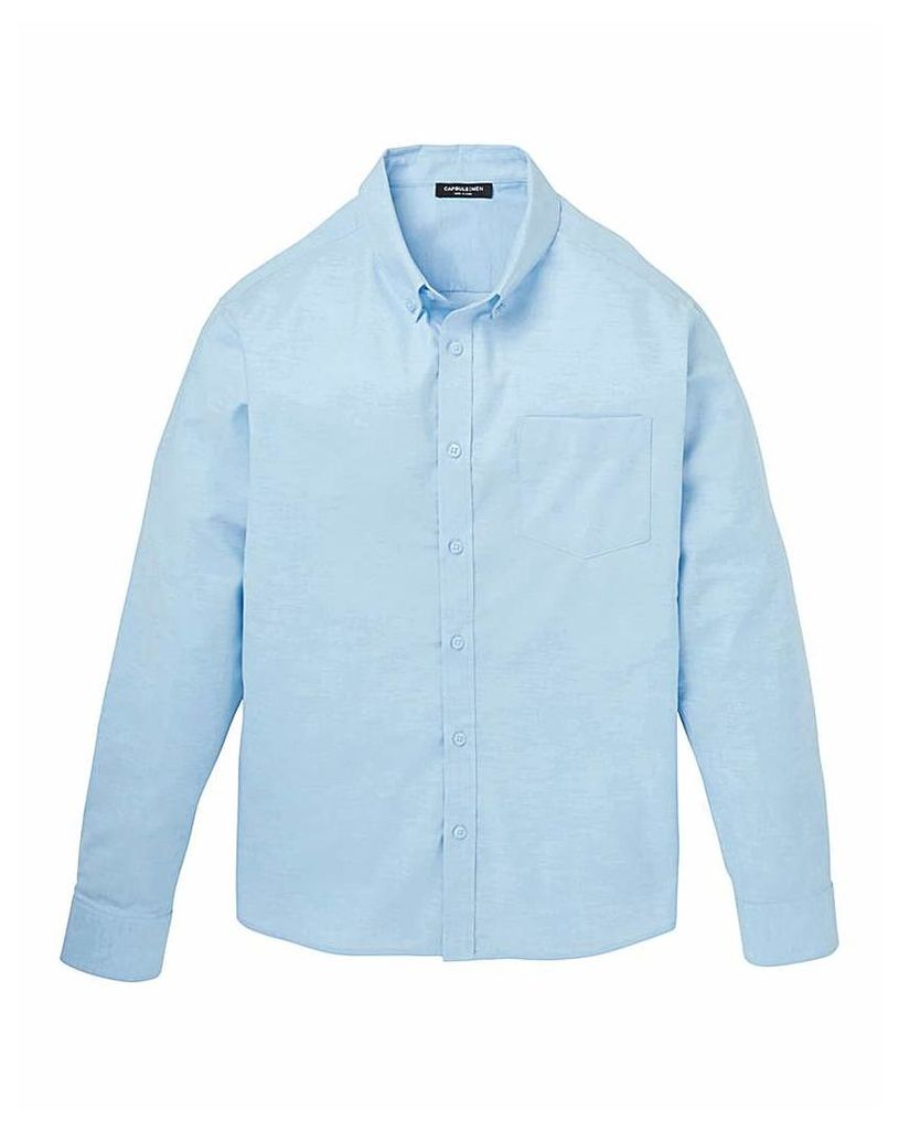 Capsule Blue L/S Oxford Shirt Long