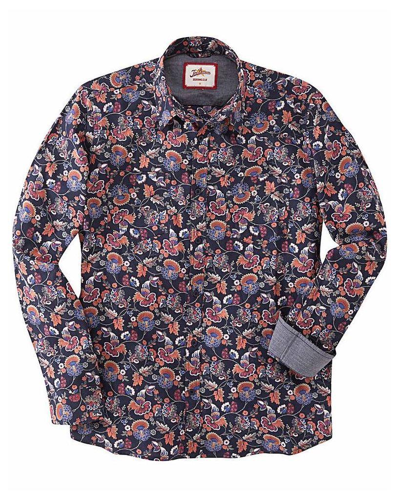 Joe Browns Vintage Print Western Shirt L