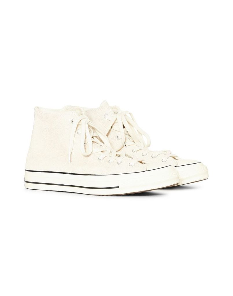 Converse Chuck Taylor All Star '70 Vintage Suede Hi Off White