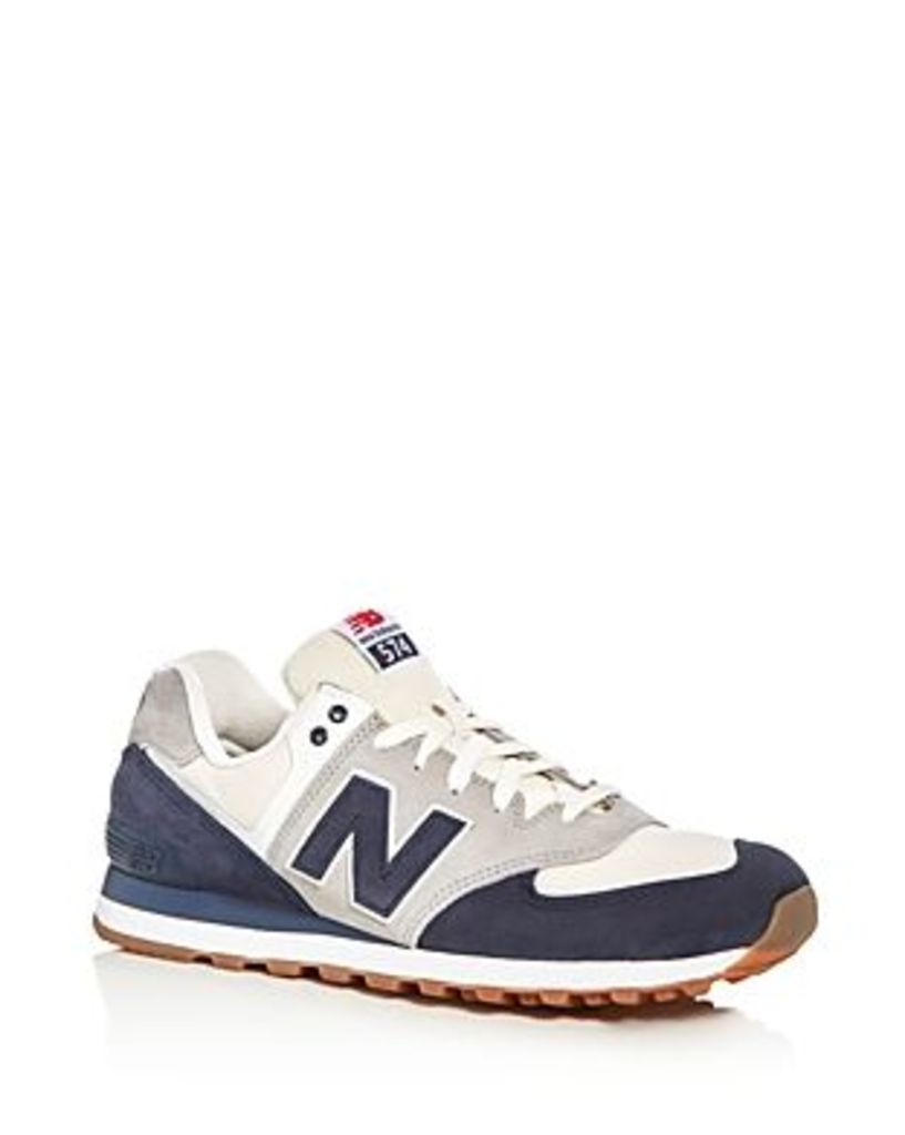 New Balance Men's 574 Retro Lace Up Sneakers