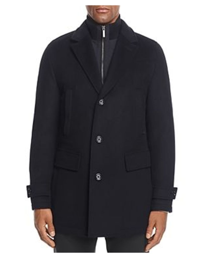 Conway Wool Cashmere Topcoat