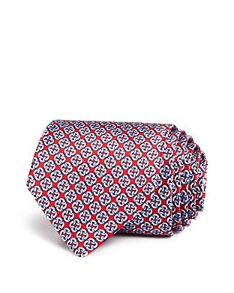 The Men's Store at Bloomingdale's Linked Square Chain Classic Tie - 100% Exclusive