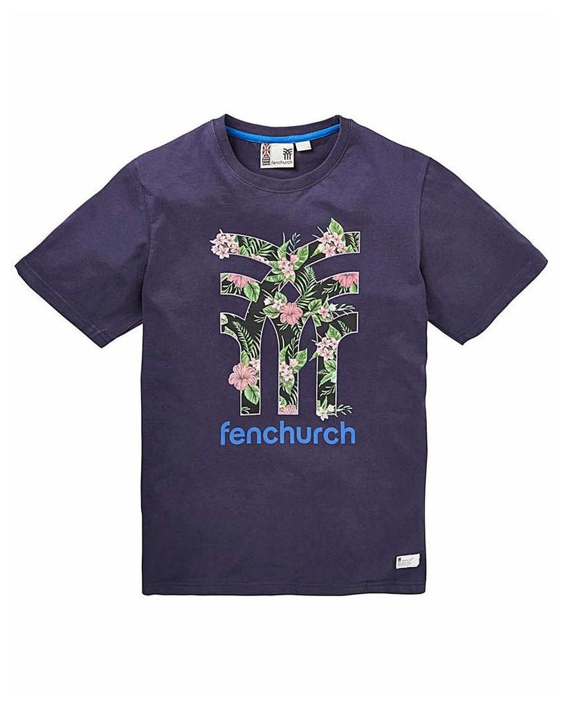 Fenchurch Icon Floral T-Shirt Long