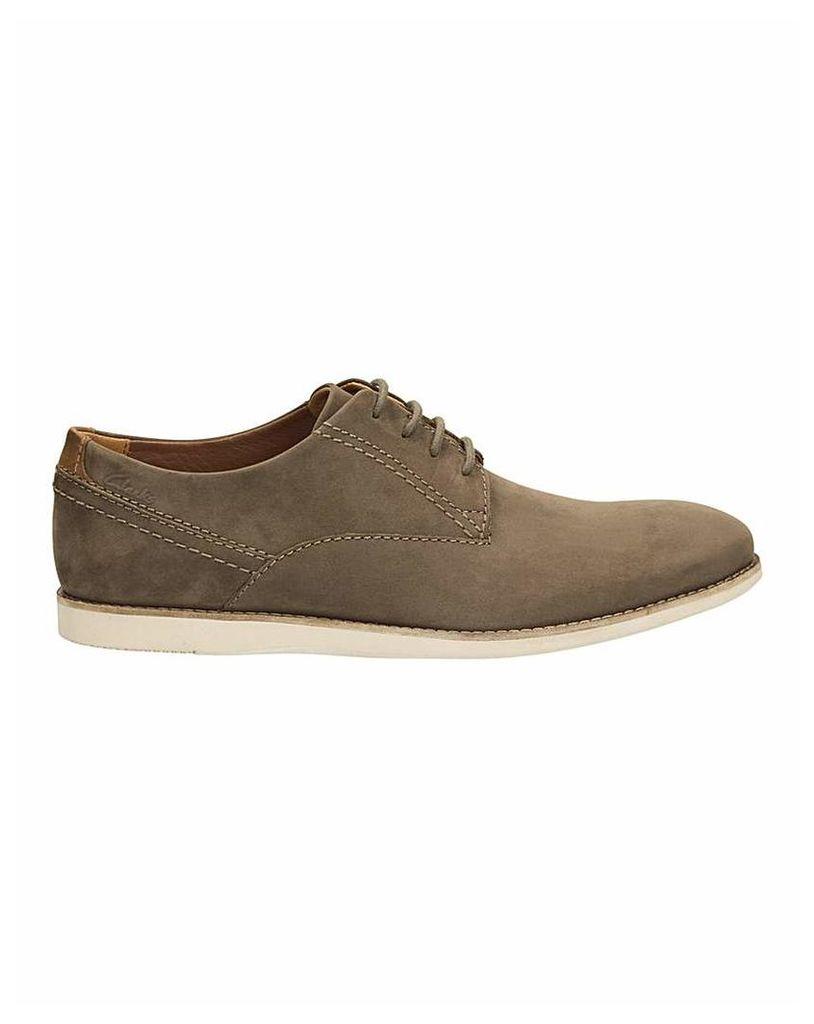 Clarks Franson Plain Shoes G fitting