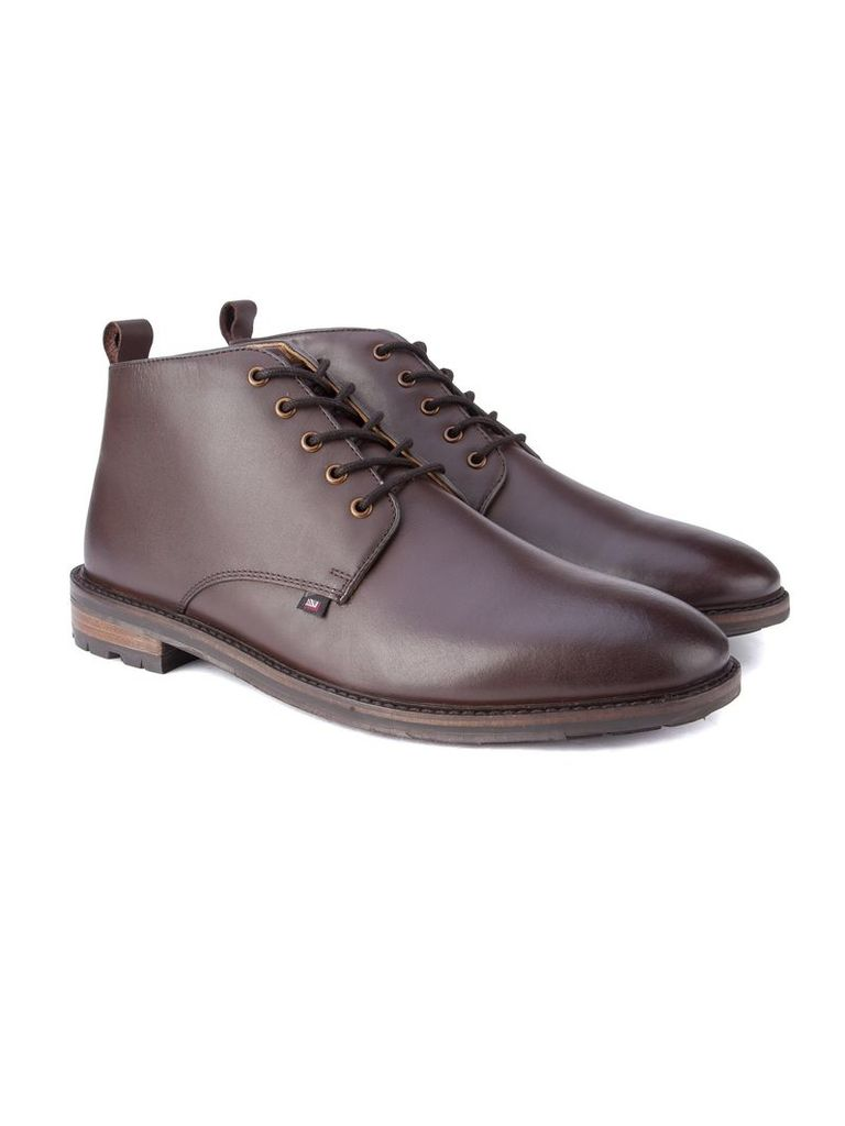 Ellington Leather Lace Boot 10 Brown