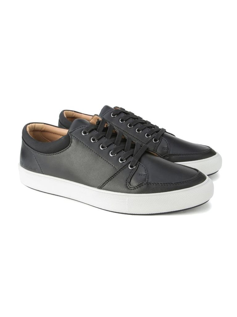 Common Leather Trainer 10 Black