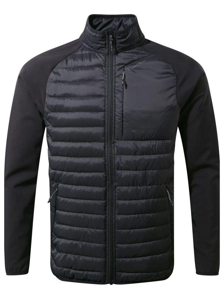 Men's Craghoppers Voyager Hybrid Softshell Jacket, Nearly Black