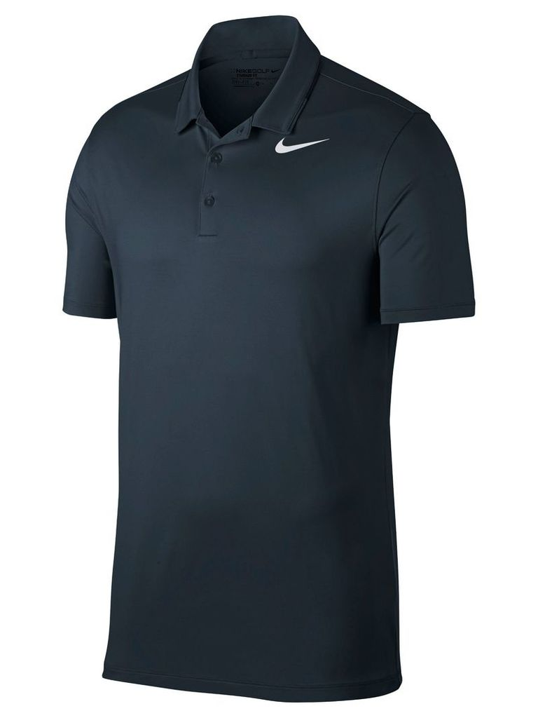 Men's Nike Dry Solid Polo, Blue
