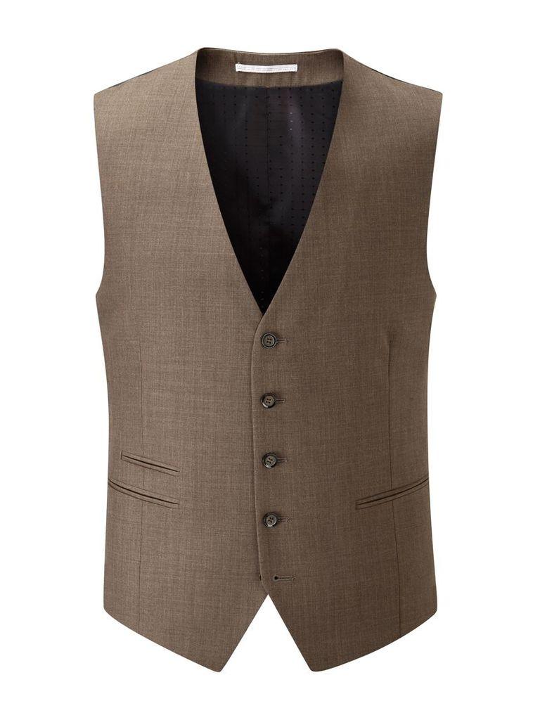 Men's Skopes Joss Waistcoat, Brown