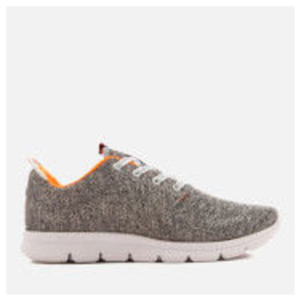 Superdry Men's Scuba Runner Trainers - Grey Grindle/White
