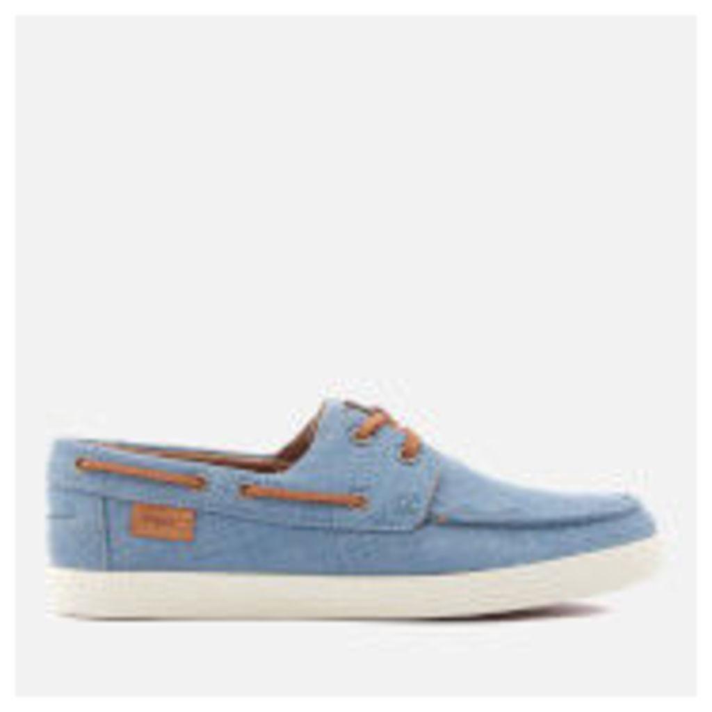 Lacoste Men's Keellson Boat Shoes - Blue