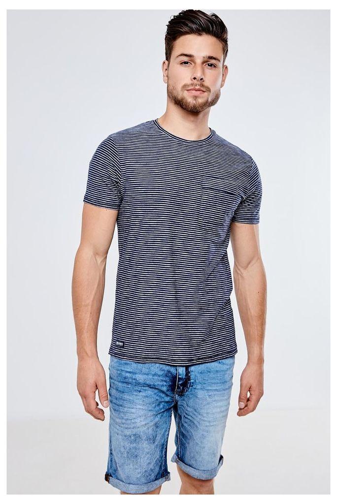 Threadbare Carmel Valley T-Shirt - Blue
