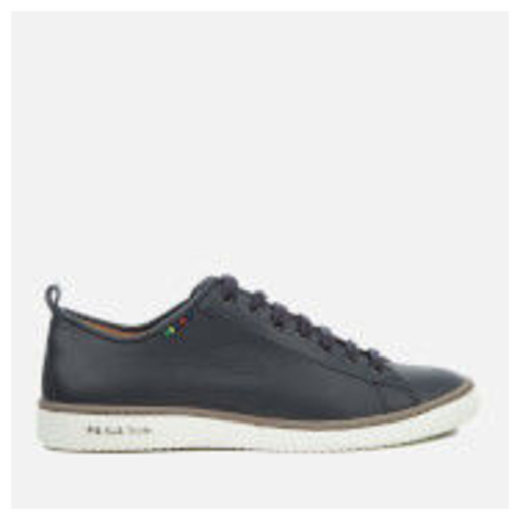 PS by Paul Smith Men's Miyata Leather Trainers - Dark Navy