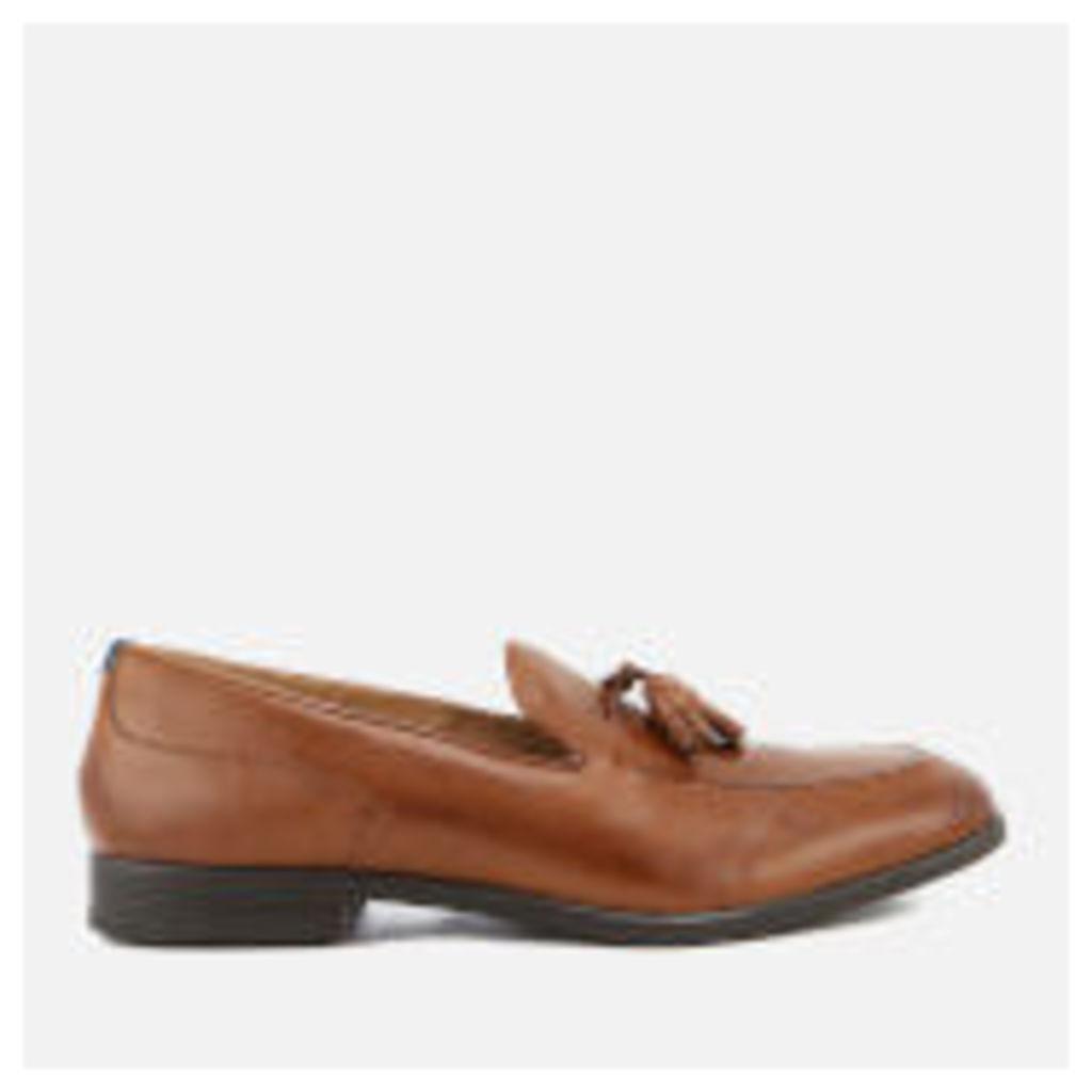 Hudson London Men's Dickson Leather Tassel Loafers - Tan