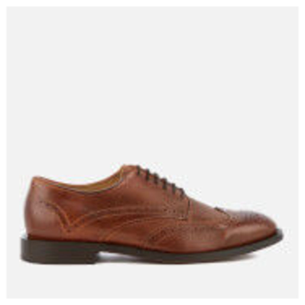 Hudson London Men's Whitman Leather Brogues - Cognac