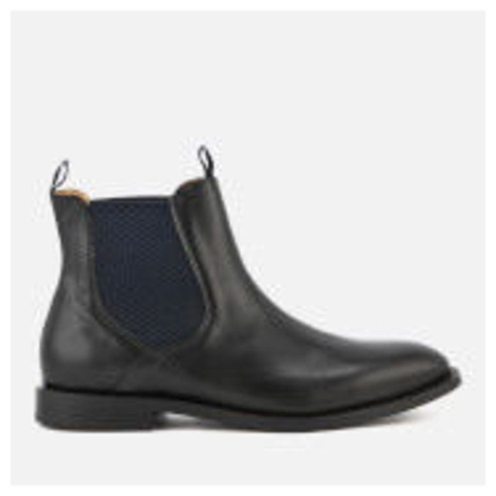Hudson London Men's Wynford Leather Chelsea Boots - Black