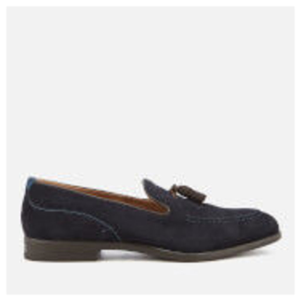 Hudson London Men's Dickson Suede Tassel Loafers - Navy