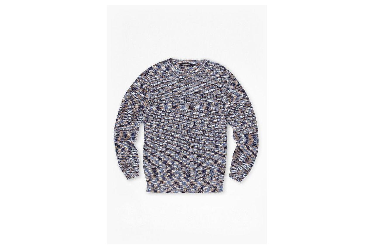 Space Dye Knitted Jumper - space dye multi