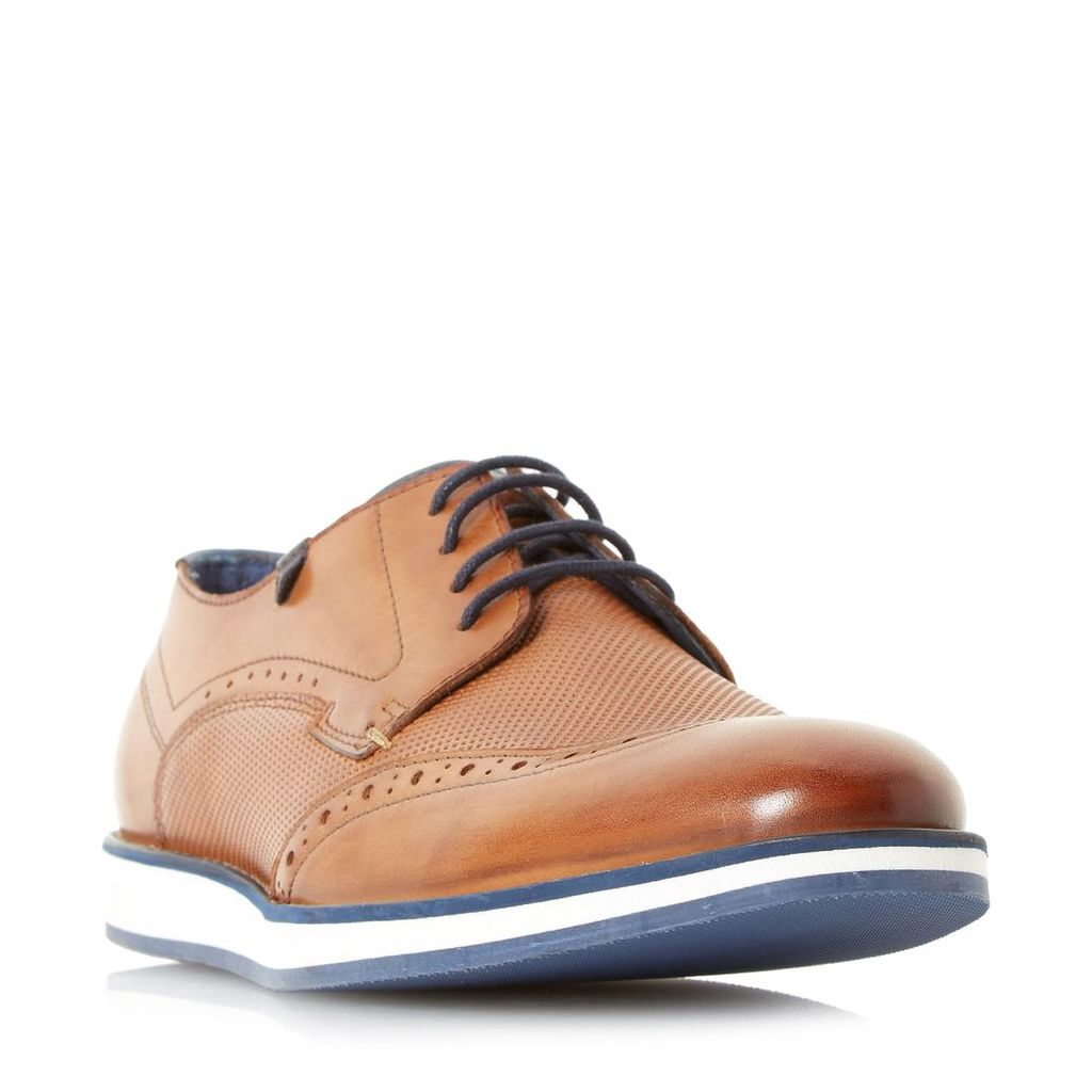 Beckham Wedge Sole Gibson Shoe