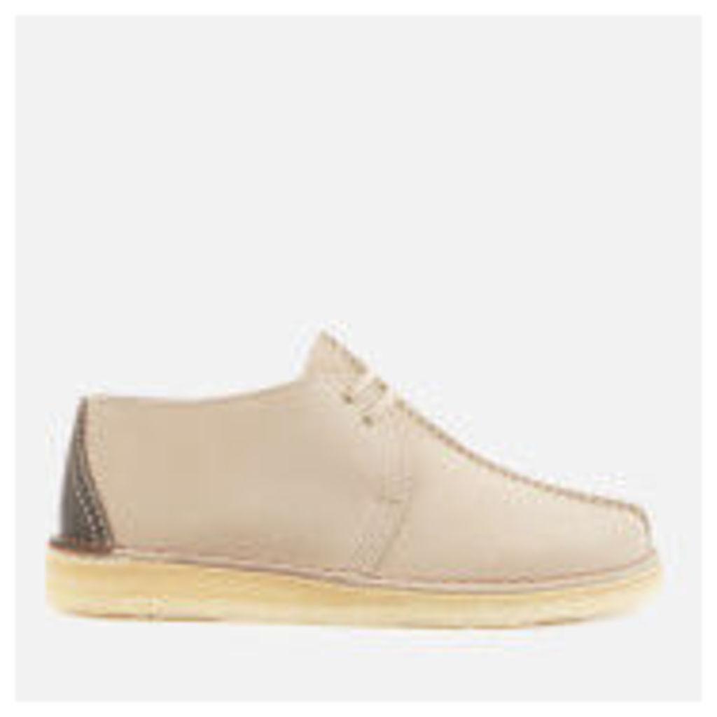 Clarks Originals Men's Desert Trek Suede Shoes - Sand