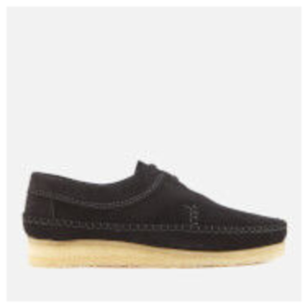 Clarks Originals Men's Weaver Suede Shoes - Black